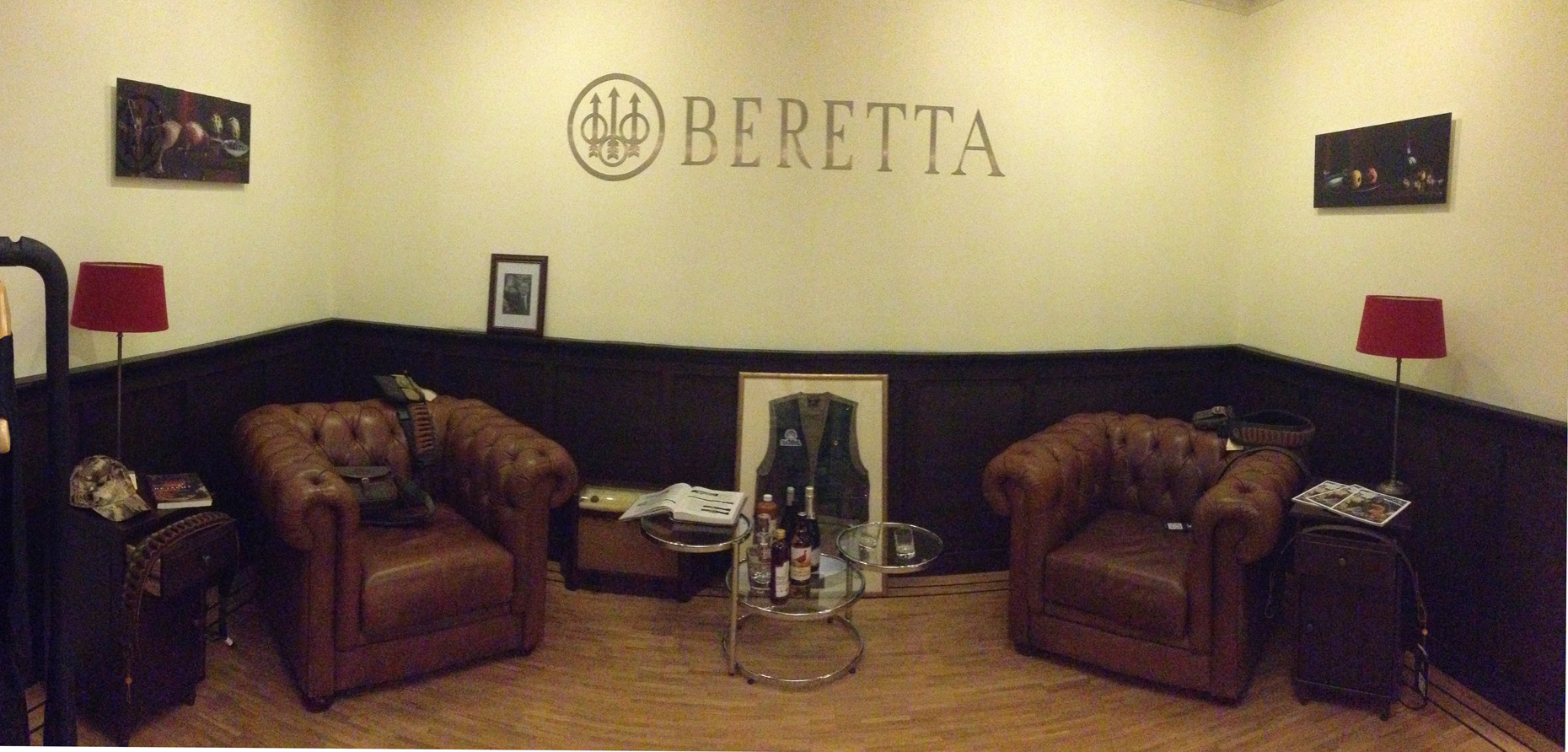 Stillifes in the Beretta Room